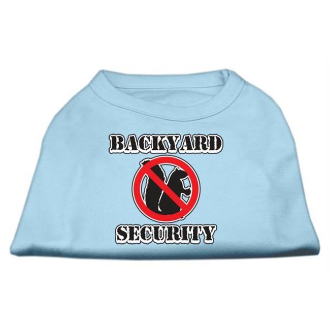 Backyard Security Screen Print Shirts Baby Blue Xs (8) - image 1 of 1
