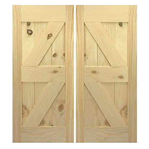 Interior Barn Doors | Closet Barn Doors | Swinging Cafe ...