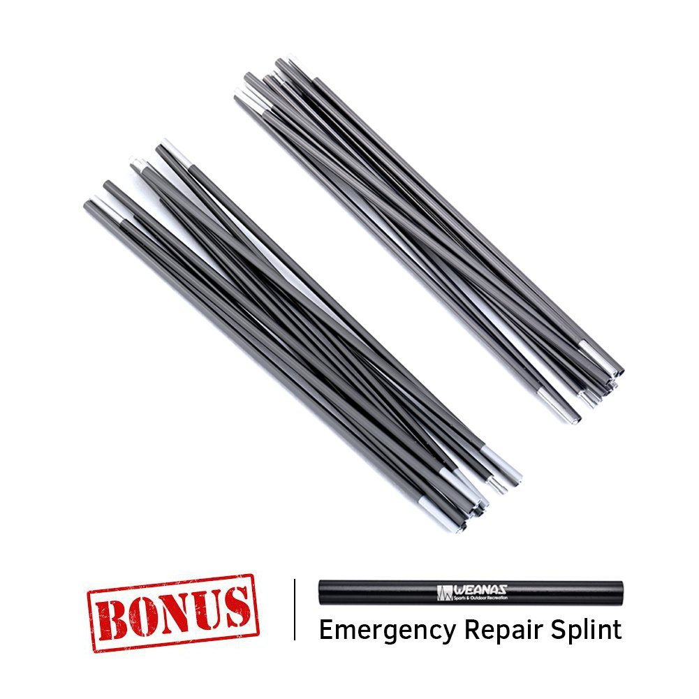 "14'2"" Aluminum Rod Tent Pole Replacement Accessories 4.3m"