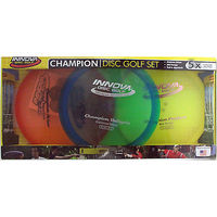 Innova Champion Disc Golf Set 3 Discs, Colors vary by