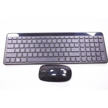 1e9565fc2e8 801523-001 Hp Us Black Keyboard & Mouse 19-2412 ALL-IN-ONE 750-124 24-B223W  - Walmart.com