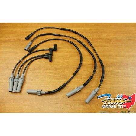 2007 2011 jeep wrangler 3 8l ignition wire set mopar oem. Black Bedroom Furniture Sets. Home Design Ideas