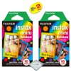 fujifilm instax mini 8 instant film 2-PACK (20 Sheets) Rainbow Fujifilm instax mini Instant Film -RAINBOW 2-pack