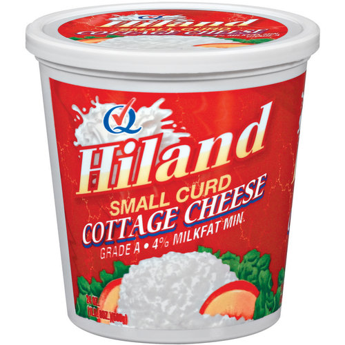 Hiland Small Curd Cottage Cheese, 24 oz