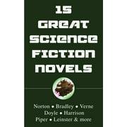 15 Great Science Fiction Novels - eBook