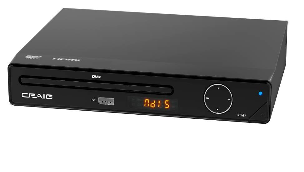 Craig Electronics Progressive Scan Dvd Player with Remote ...