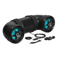 Soundstorm BTB8L 8 Inch 700W Bluetooth Amplified Marine UTV ATV Speaker System