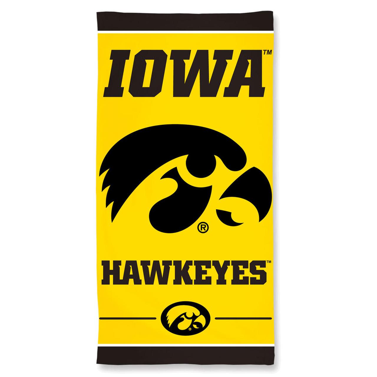 Iowa Hawkeyes 30 x 60 Beach Towel - Gold