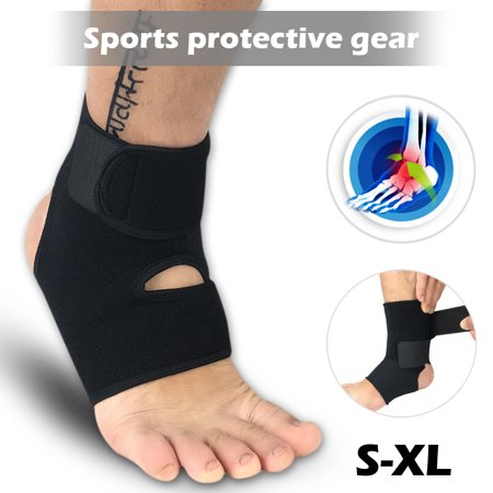 Breathable Ankle Brace ,Girls Boys Ankle Support Brace Compression Ankle Strap Immobilization Foot Wrap for Ankle Sprains, Running Basketball Men Women - S/M, L/XL, (Best Ankle Support For Sprain)