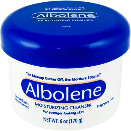 Albolene Moisturizing Cleanser Unscented, 6 oz.
