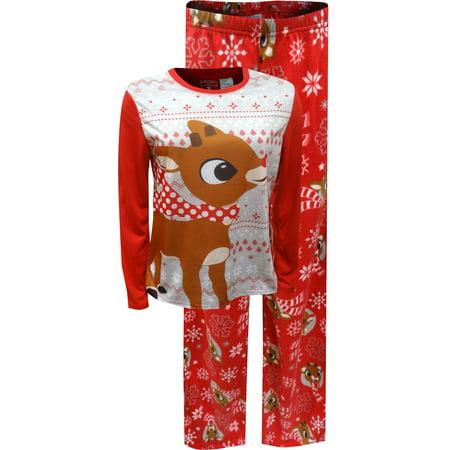 Rudolph The Red-Nosed Reindeer Ladies Pajama