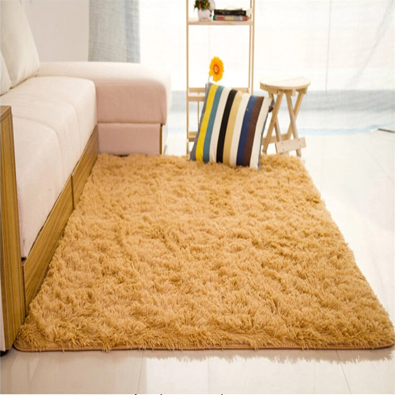 Modern Soft Fluffy Floor Rug Shag Shaggy Area Rug Bedroom