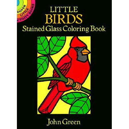 Little Birds Stained Glass Coloring Book](Stained Glass Mlp)