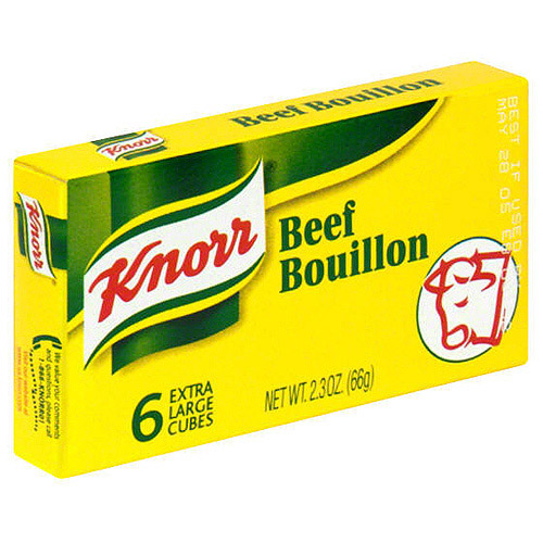 Knorr Beef Flavored Bouillon, 2.3 oz  (Pack of 24)