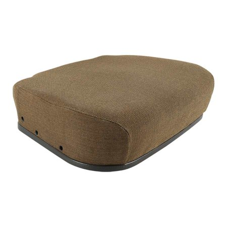 Complete Tractor New 1410-0126 Seat Cushion Replacement For John Deere 4030, 4040, 4055, 4230, 4240, 4255 AR82944, RE163027, RE188578 John Deere Replacement Seat