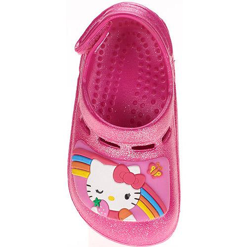 Hello Kitty Toddler Girls' Rainbow Clogs
