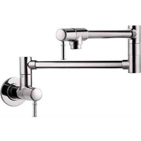 Hansgrohe 04218830 Talis C Wall-Mounted Pot Filler Faucet with 25