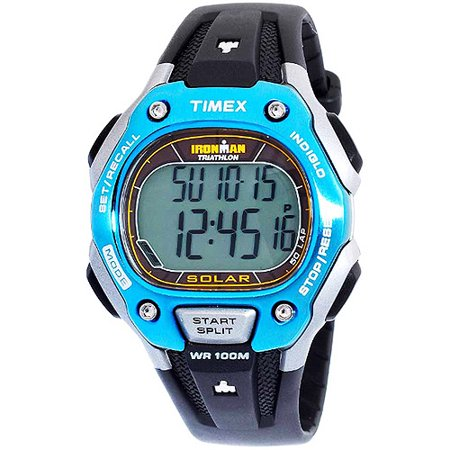 Timex Solar Powered Ironman 50-Lap Watch