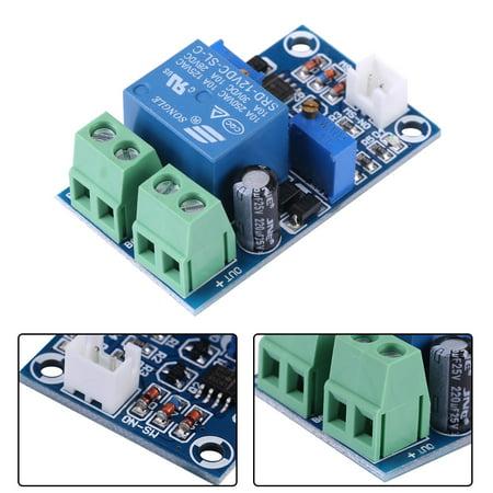 Garosa Batterie de 12V basse tension coupée du module de protection de récupération de commutation automatique, commutateur de coupure de basse tension, contrôle de sous-tension - image 6 de 8