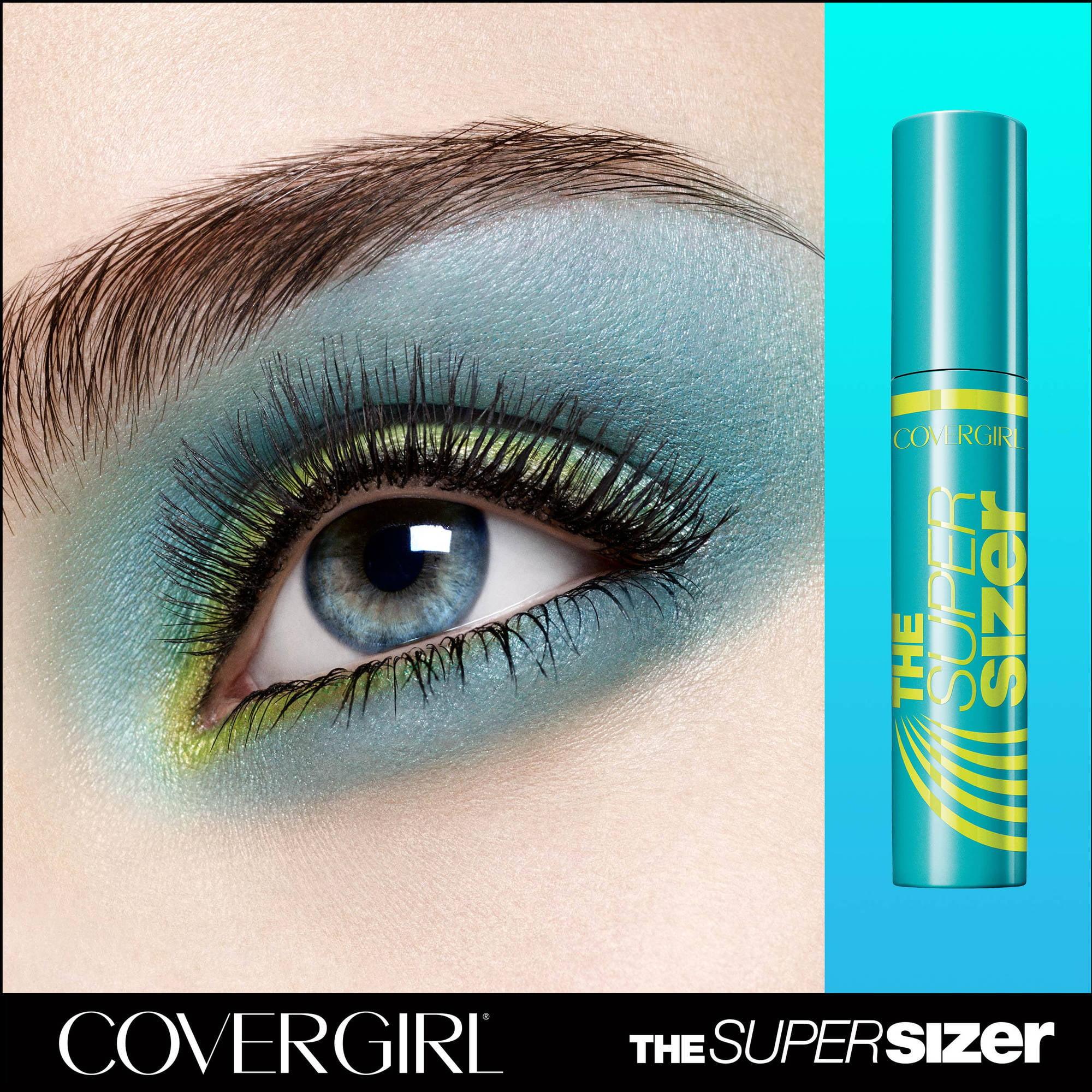 eea9351d398 COVERGIRL Super Sizer Mascara, 800 Very Black - Walmart.com
