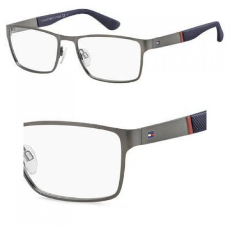 Eyeglasses Tommy Hilfiger Th 1543 0R80 Semi Matte Dark Ruthenium ()