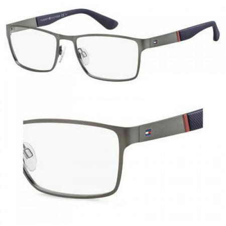 Eyeglasses Tommy Hilfiger Th 1543 0R80 Semi Matte Dark (Dark Ruthenium Matte)