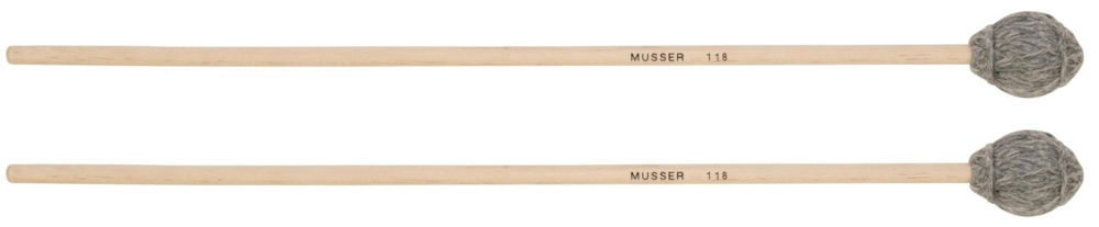 Musser Keyboard Hard Mallet with Birch Handle MUS118 by Musser