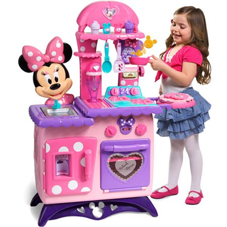 minnie mouse bow tique flipping fun kitc. Black Bedroom Furniture Sets. Home Design Ideas