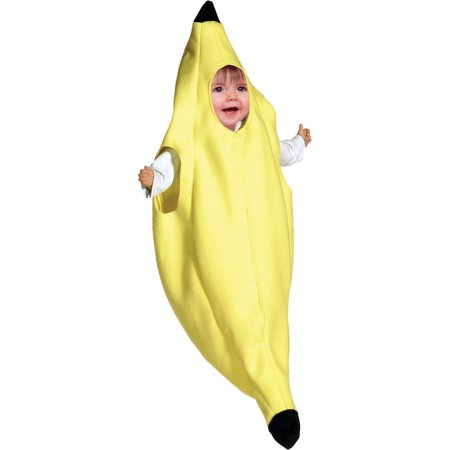 Banana Bunting Infant Halloween Costume - Infant Halloween Costumes Bunting