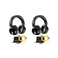 c2e845c2857 Product Image Kicker Wireless Cordless Over Ear Audio Bluetooth Stereo  Headphones (2 Pack)