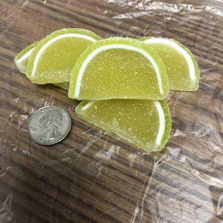 Lime Fruit Slices - Cavalier Candies Fruit Slices Key Lime flavor jelly candy 2 pounds