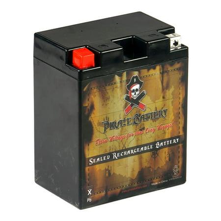 YTX14AH BS ATV Battery For YAMAHA YFM250 Bear Tracker 250CC 99 04