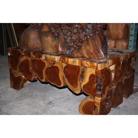 "Teak Root Coffee Table 20"" X 40"" X 24"" - Bali Art Decor ..."