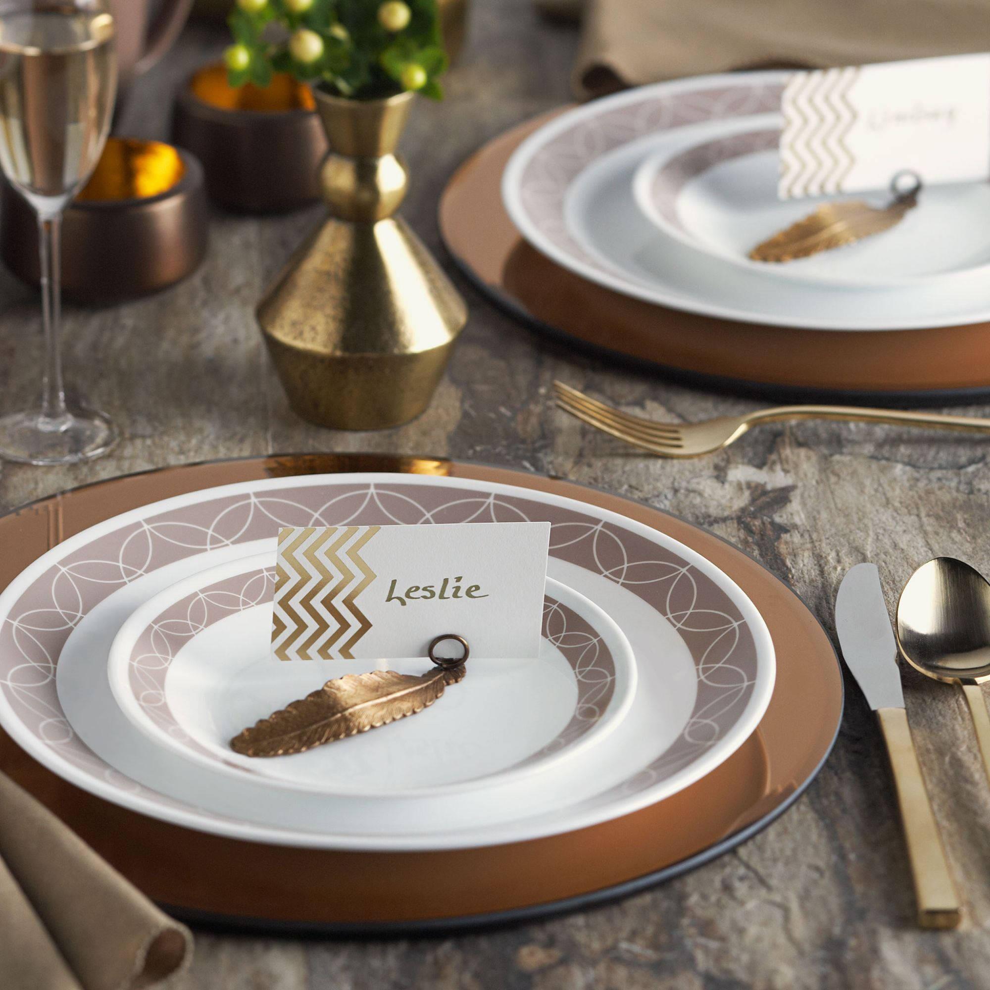 Corelle Livingware Sand Sketch 16-Piece Dinnerware Set