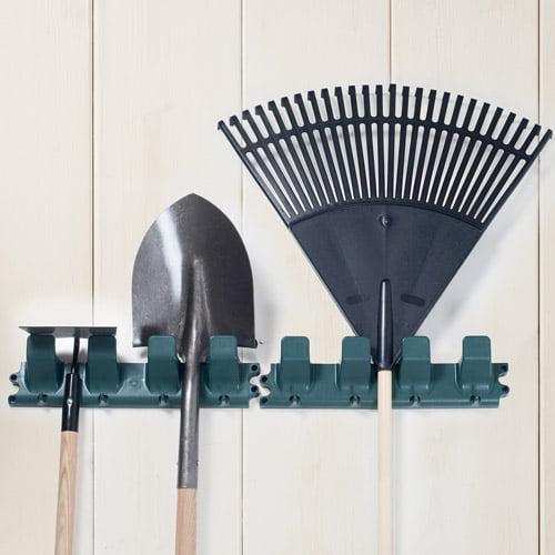 Stalwart Garden Tool Hangers, Set of 2