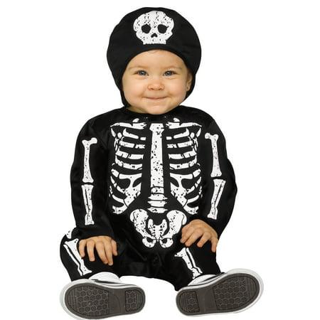Morris Costumes FW-115321WS Baby Bones Wt Ch 6-12M