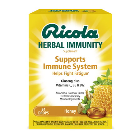 Ricola Honey Lozenges 24ct