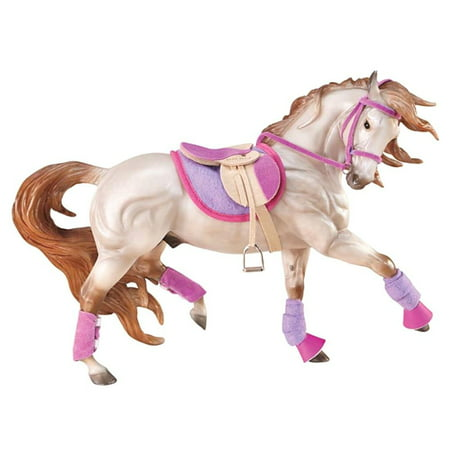 Breyer Traditional English Riding Set - Hot Colors - Horse Toy Accessory (1:9 Scale)