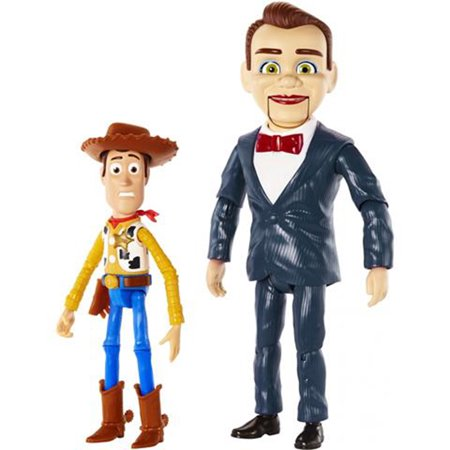 Disney Pixar Toy Story Benson and Woody Figure 2-Pack GGJ89 by Mattel Ages 5 - 11 Years - image 1 of 5