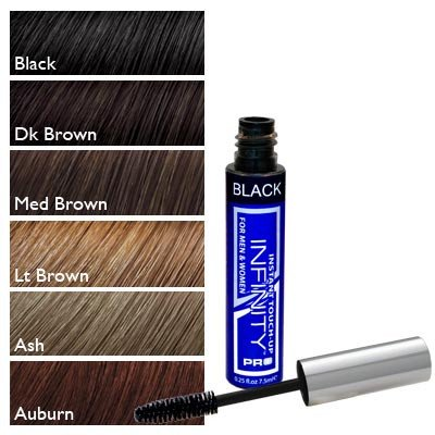Infinity Temporary Hair Color Touch Up Instant Hair Color, Black