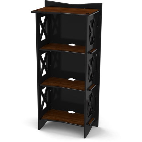 Legare Cottage Bookcase Ebony Walnut