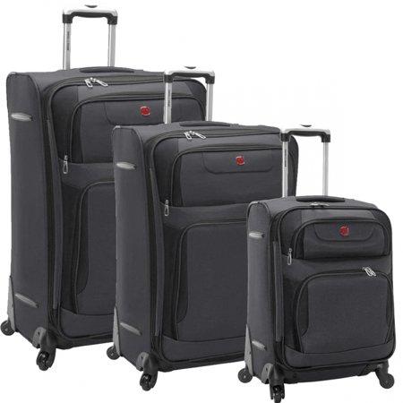 SwissGear Spinner Luggage 3-Piece Set