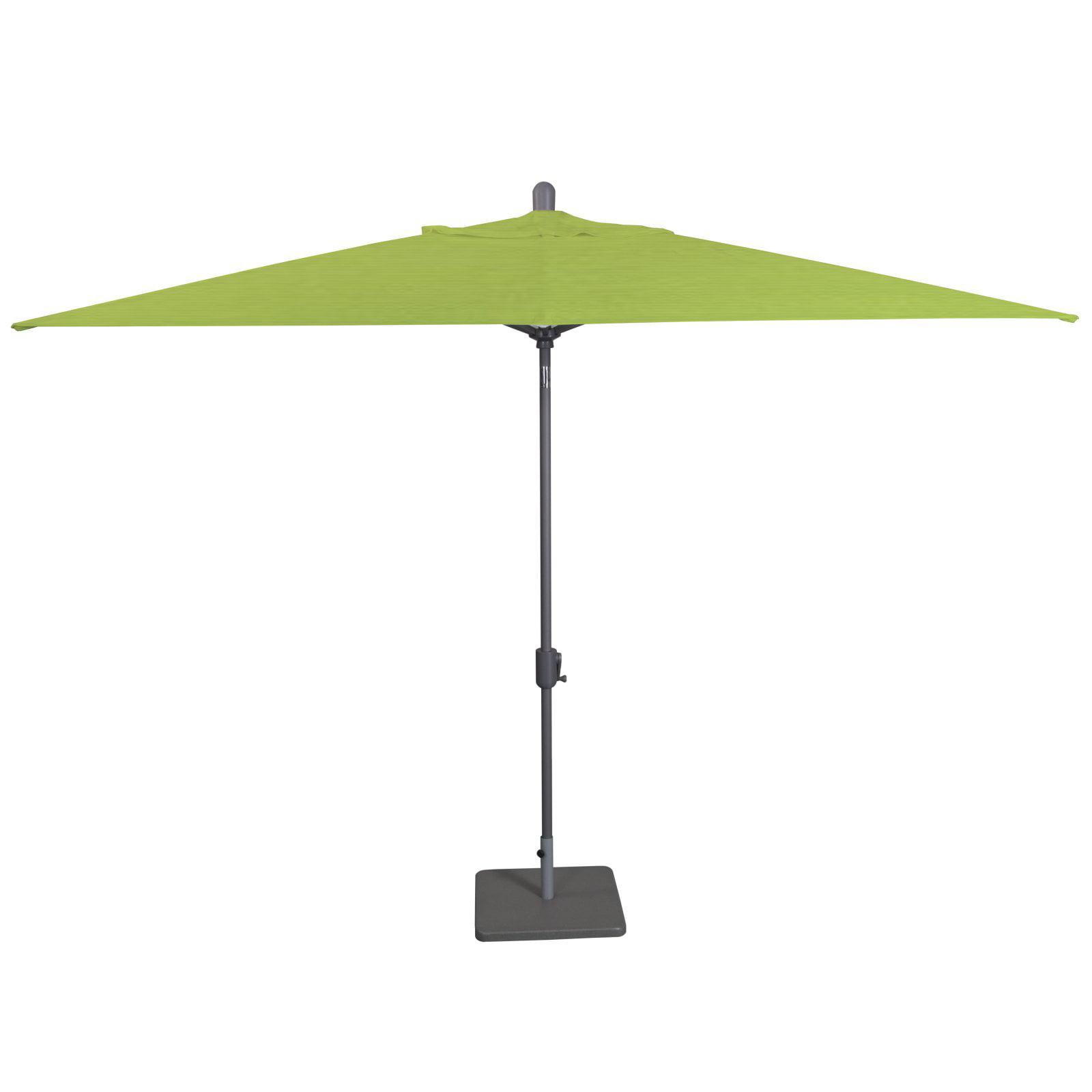 Beau Amauri Laguna Cove 10 Ft. X 6.5 Ft. Rectangular Sunbrella Auto Tilt  Aluminum Market Patio Umbrella