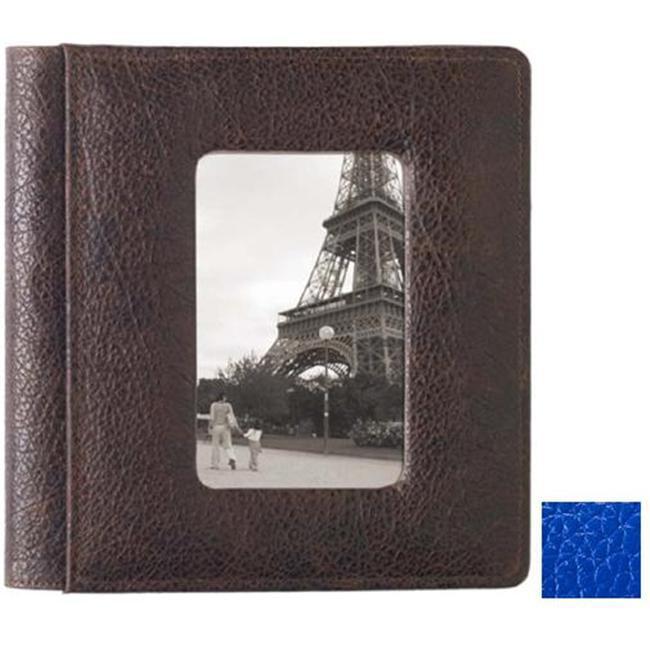 Raika RO 168 BLUE 4inch x 6inch Frame Front Album Foldou - Blue