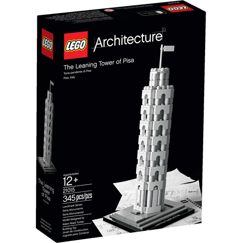 LEGO Architecture Leaning Tower of Pisa Building Set