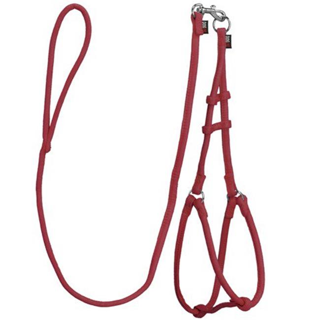 Dogline M8013-3 48 L x 0.33 W in. Comfort Microfiber Round Step-In Harness, Red - image 1 of 1