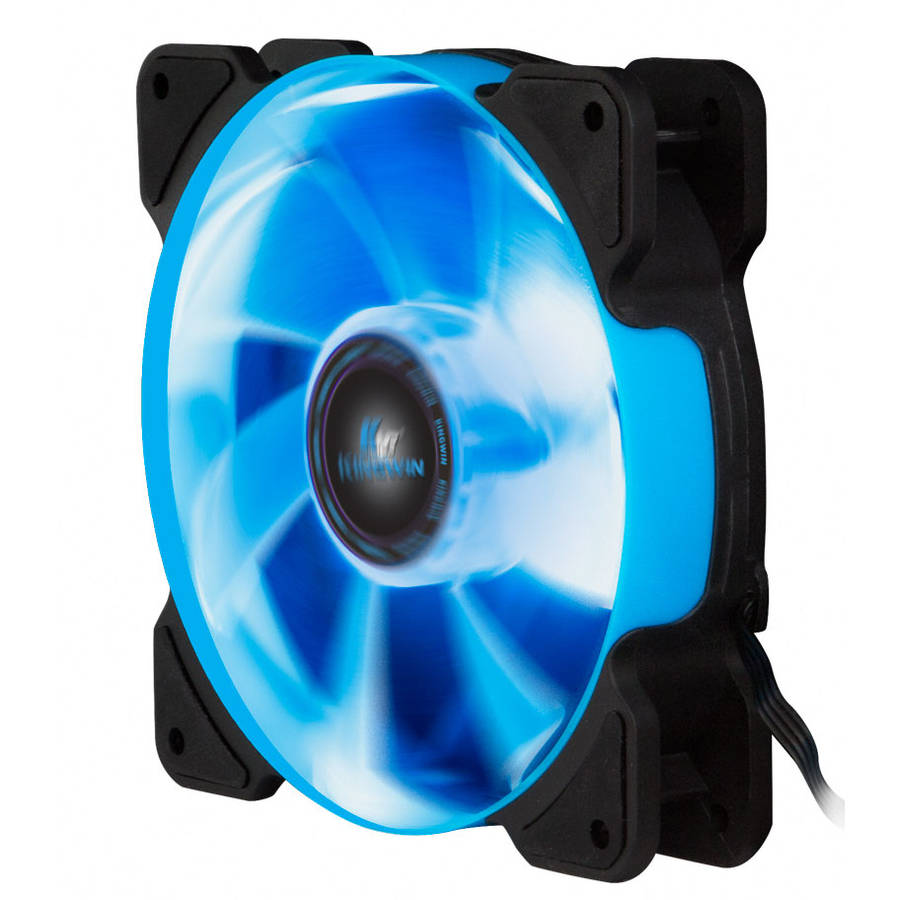 XFBL-012LBB-PWM Blue LED 120 x 120 x 25mm Case Fan