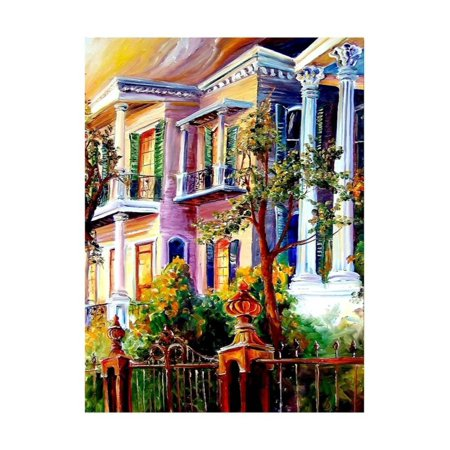 Garden District Metal (Garden District Sunset Print Wall Art By Diane Millsap )