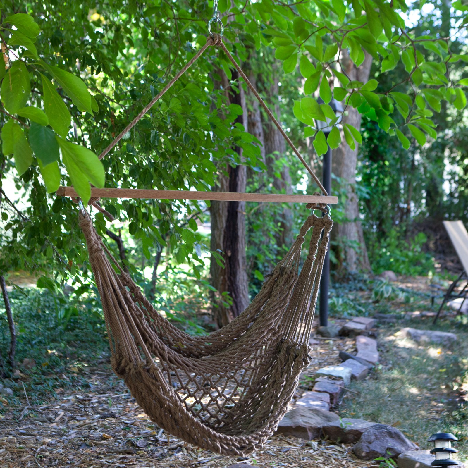 Coral Coast Rope Hammock Chair