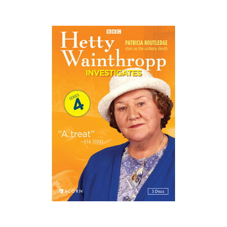 Hetty Wainthropp Investigates: Complete Fourth Series (DVD)
